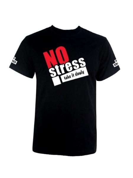 koszulka z nadrukiem no stress
