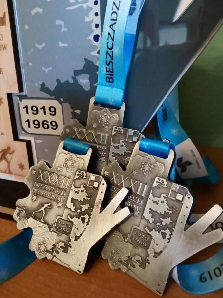 medal bieszczadzki bieg lotnikow