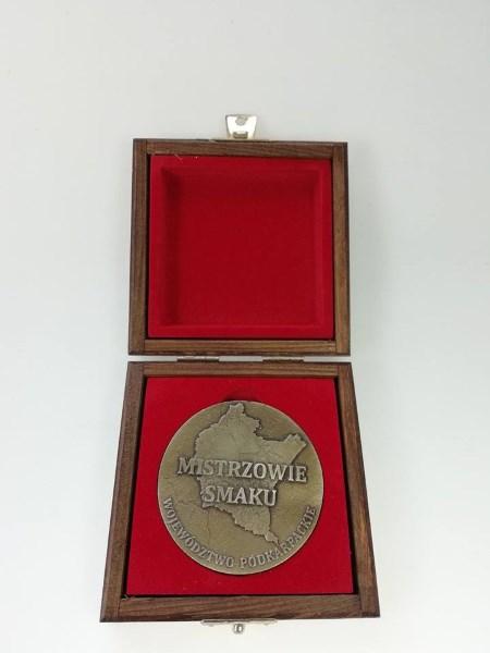 medal odlewany mistrzowie smaku