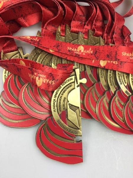 medal spartanie
