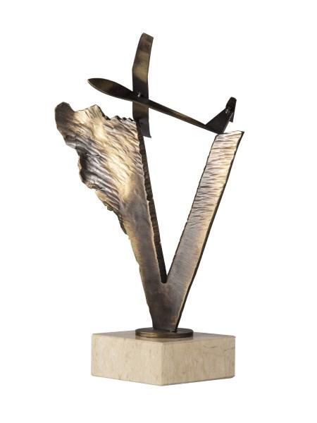 statuetka sportowa szybowiec